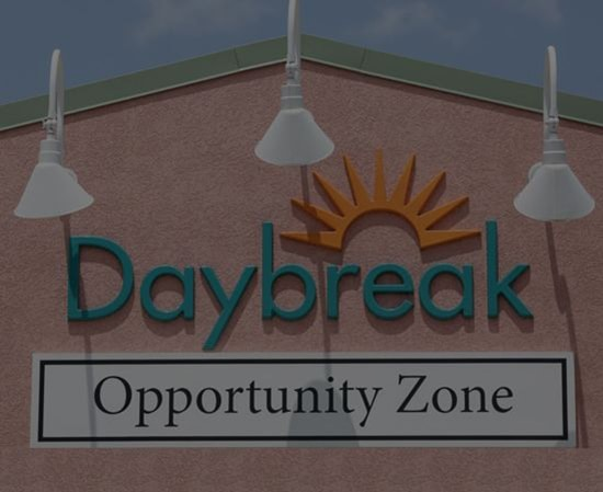 Exterior Image of Daybreak's Opportunity Zone